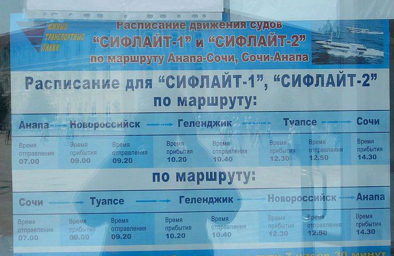 Ожидается очередное возвращение «Комет» в Новороссийск