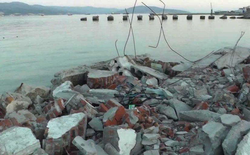 Возле старого новороссийского рыбзавода утонул мальчик