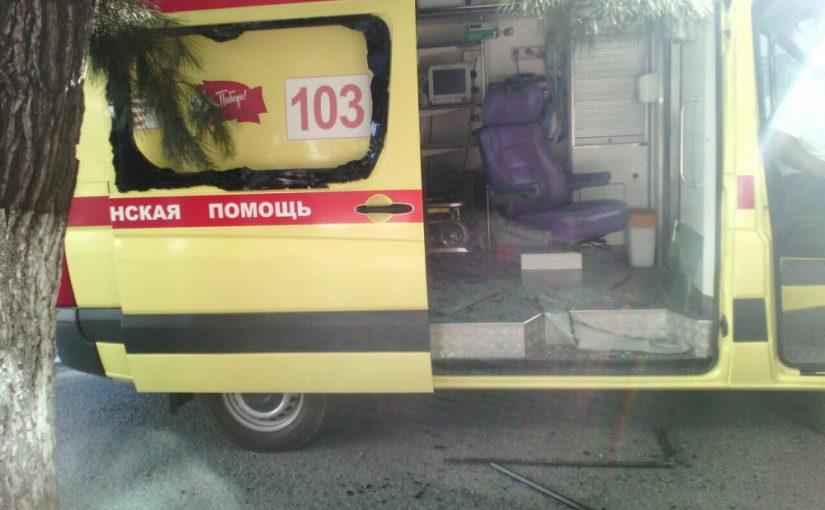 Пьяные «десантники» напали на водителя «Скорой»