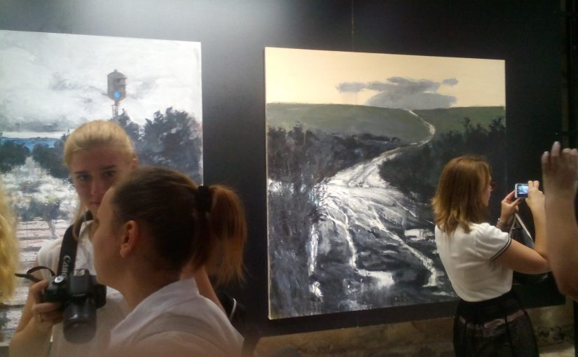 К современному искусству в Новороссийске гости добирались по «буграм»