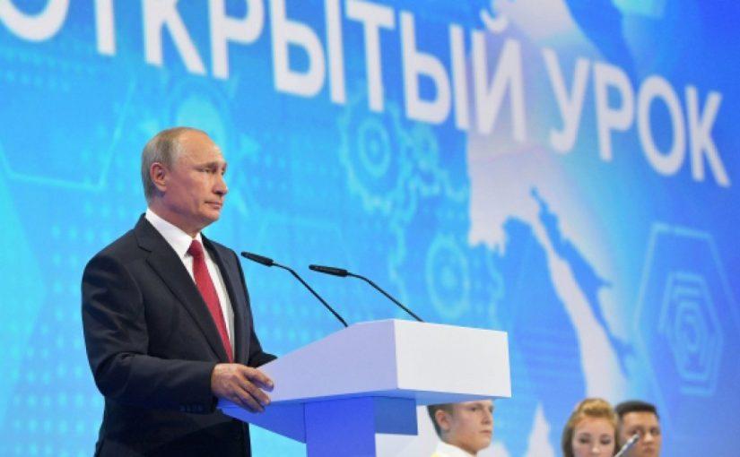Новороссийский школьник Игорь Новоселов не успел задать вопрос Президенту России 1 сентября