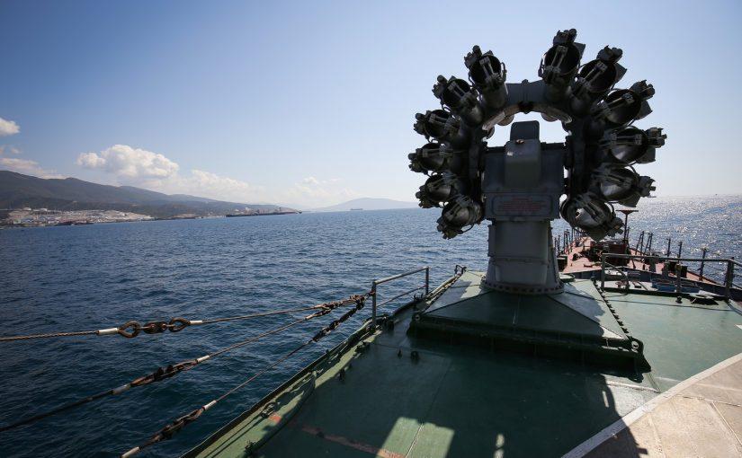 В районе Новороссийска обнаружили подводных «диверсантов»