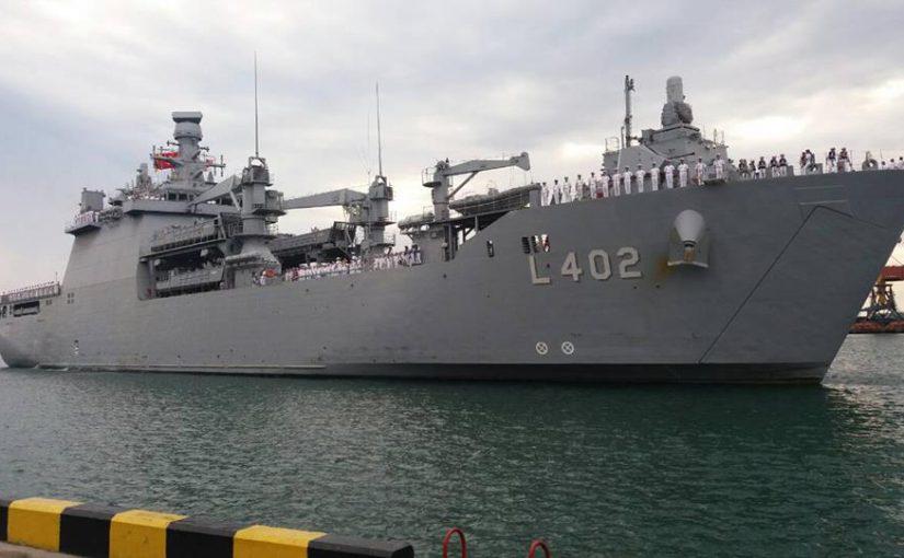 Турецкие курсанты открывают Новороссийск