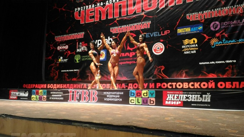 Самое красивое тело в южном регионе у Анны Антоничевой из Новороссийска