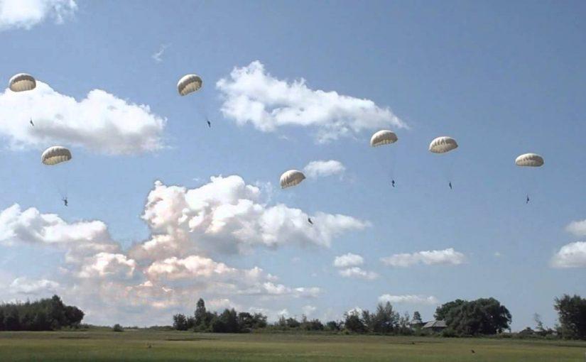Новороссийские десантники будут прыгать с новыми парашютами