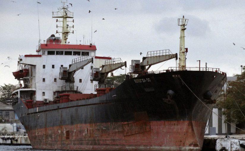 По «морскому мосту» между Тартусом и Новороссийском ходят списанные суда