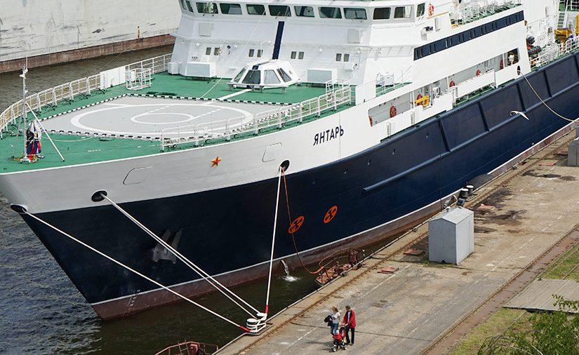 Исследовательское судно вышло из Новороссийска с секретной миссией?