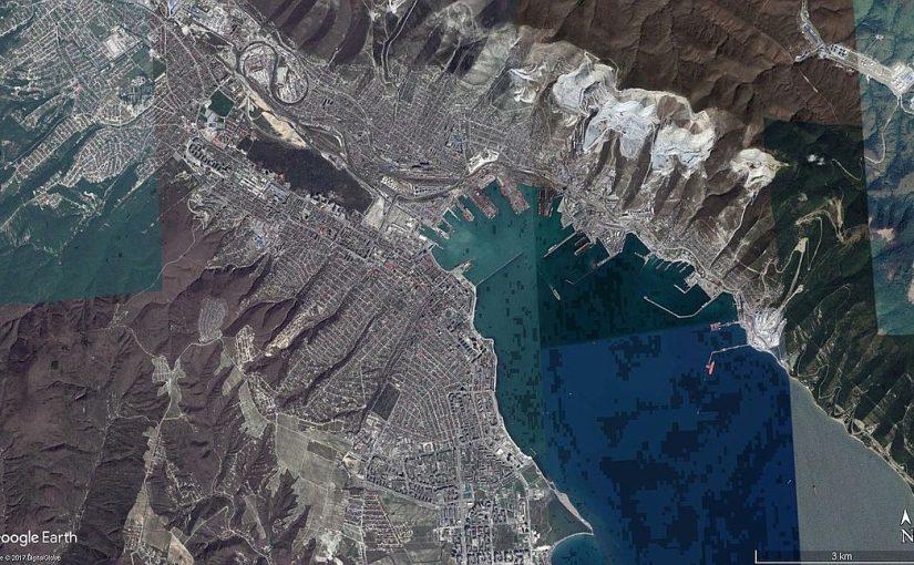 Из космоса посмотрели на Новороссийск