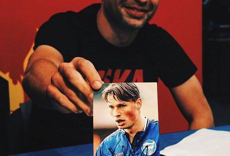 Алексей Березуцкий вспомнил, как играл в новороссийском «Черноморце»