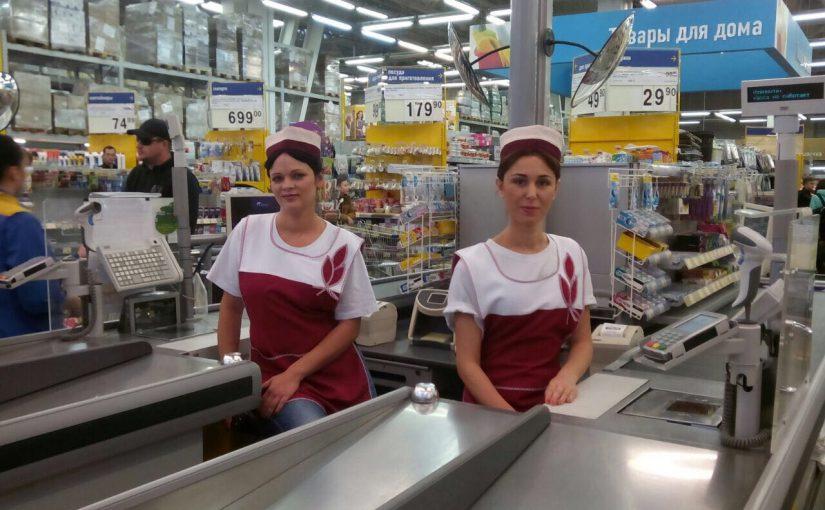В новороссийском супермаркете снимали полицейский сериал