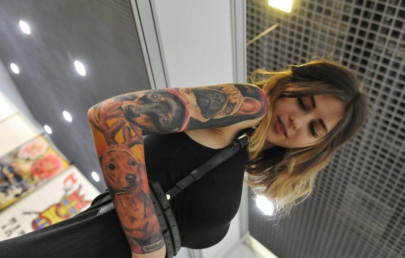 Новороссийская тату-модель вошла в пятерку самых оригинальных на международном фестивале