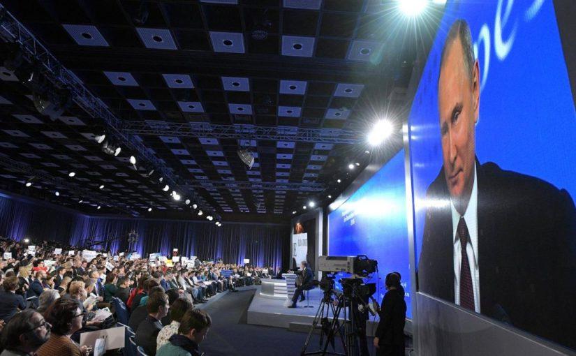 Новороссийцы готовы задать вопросы Путину на большой пресс-конференции