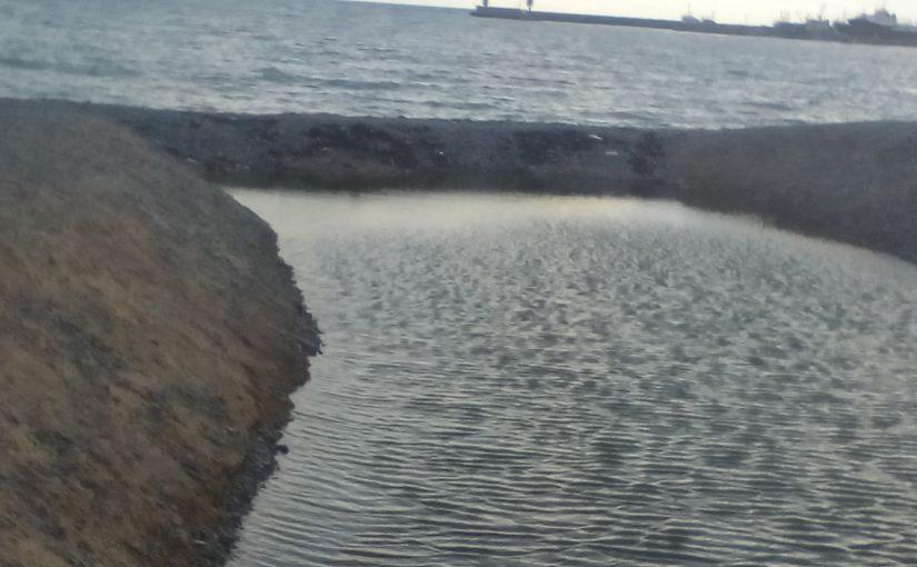Суджукская лагуна снова отрезана от моря