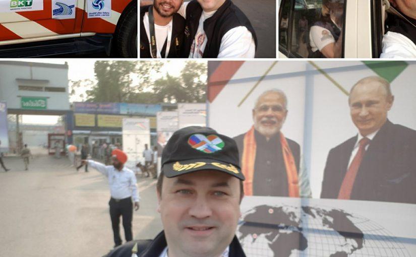 Новороссийскому бизнесмену предстоит преодолеть 8500 километров индийских дорог