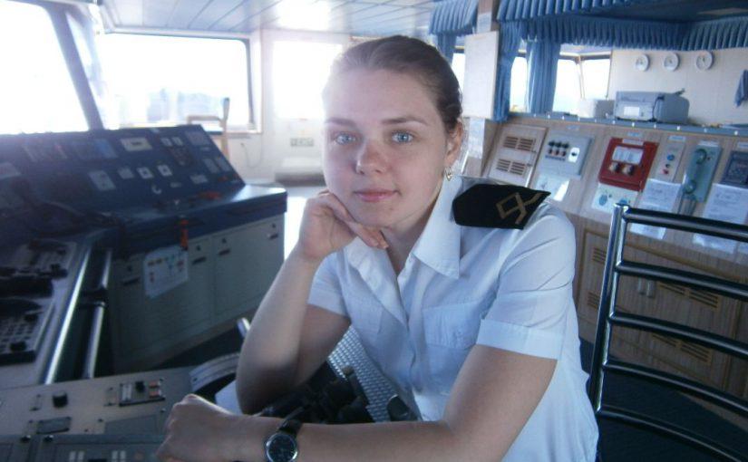 Штурман дальнего плавания из Новороссийска Ксения Коимчева уверена:  «Женщина на судне должна быть безупречна…»