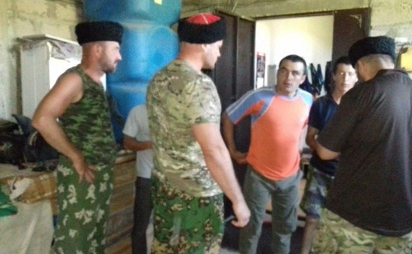 В Натухаевской казаки не обнаружили незаконных мигрантов