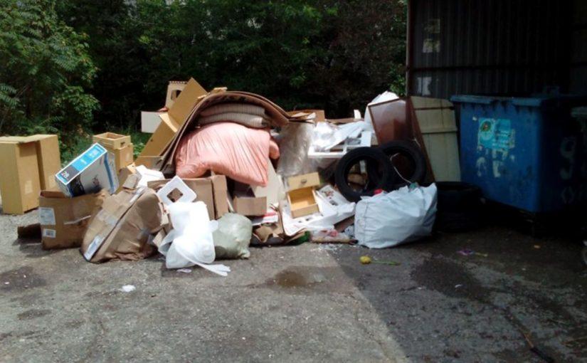 «Казачье поле» Новороссийска погрязло в мусоре