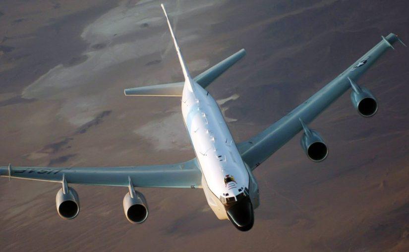 Наконец-то над Черным морем российский Су-27 перехватил самолет-разведчик США