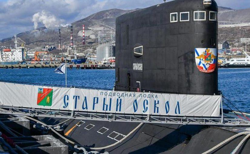 На субмарине Новороссийской военно-морской базы на глубине 200 метров родила Муся