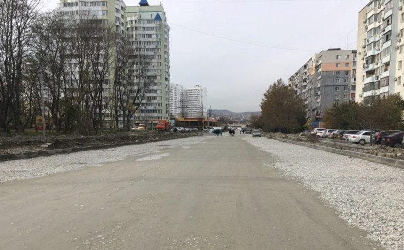 В Новороссийске до конца года можно будет объехать по щебенке 13-й микрорайон