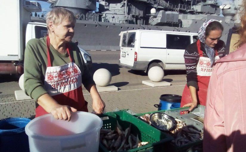 Две тонны хамсы для Новороссийска — мало!