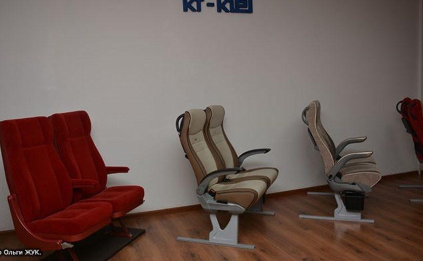 Для новых суперкомфортных плацкартных вагонов кресла делают в Новороссийске