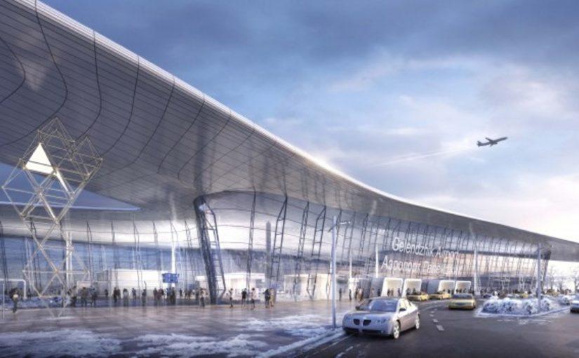 Каким будет новый терминал аэропорта в Геленджике