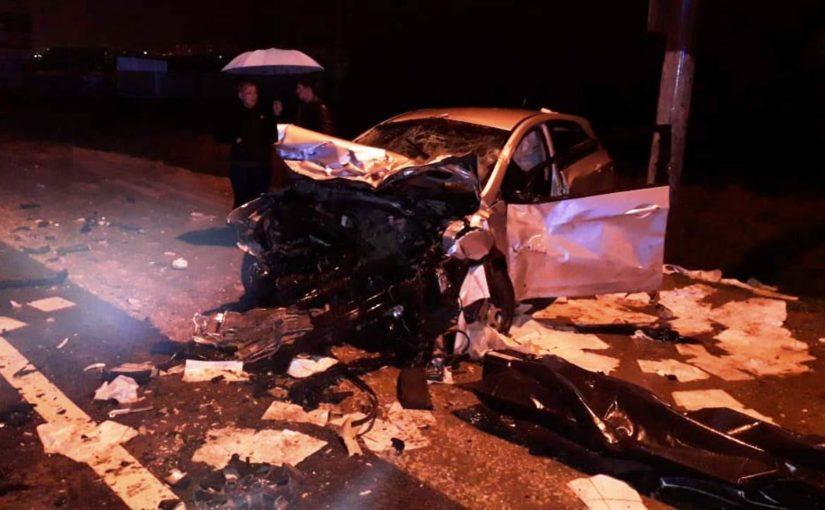 Под Новороссийском в ДТП погибшую пассажирку не сразу достали из груды металла