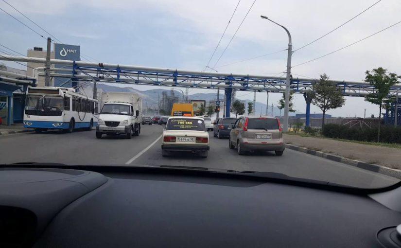 В Новороссийске на Магистральной выхлопные газы будут без примеси нефтяных испарений
