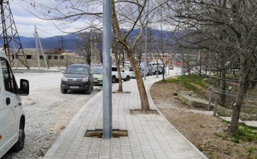 Строители дорог в Новороссийске продолжают проявлять чудеса инженерной мысли
