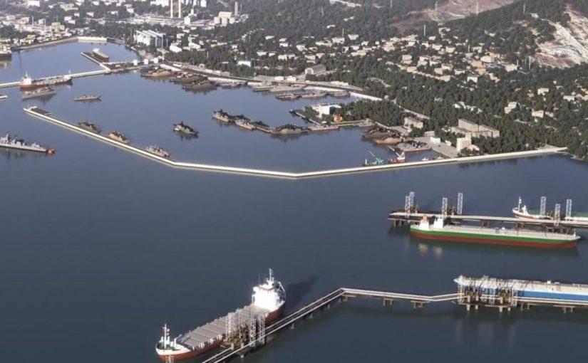 На борьбу за территорию военно-морской базы в Новороссийске ушло полмиллиона тонн камня