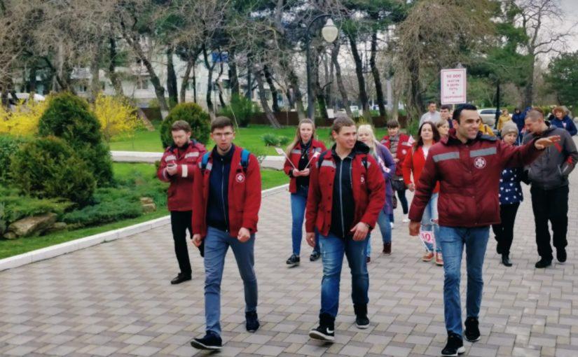 В Новороссийске на прогулке со «скорой» — плюс 10309 шагов, минус 303 килокалории
