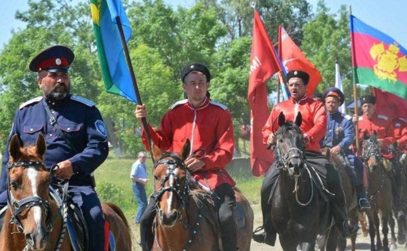 Казаки из-под Новороссийска побратаются с казаками из Болгарии