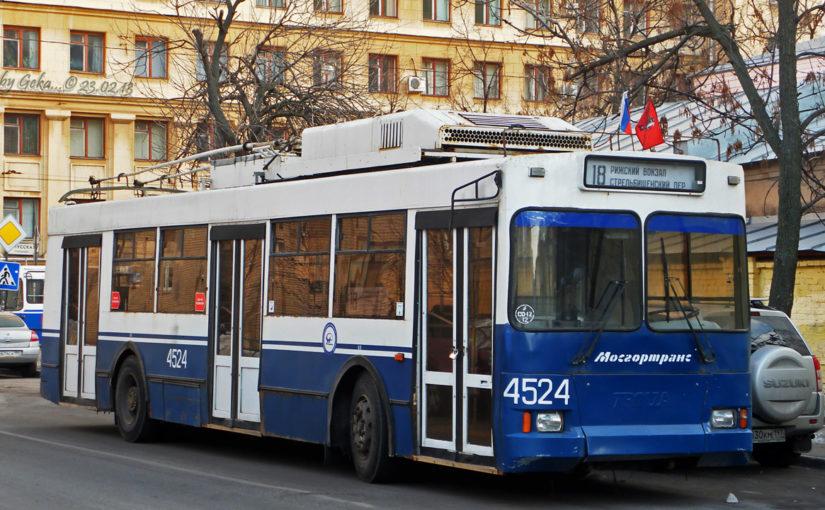 Пассажирам Новороссийска предложат списанные московские троллейбусы
