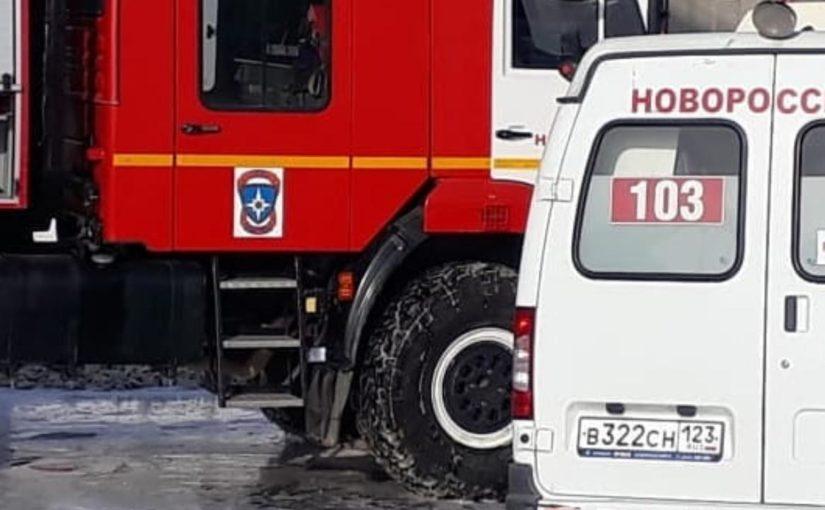 Медики Новороссийска сделали все для спасения пострадавших при пожаре на нефтебазе «Грушовая» (видео)
