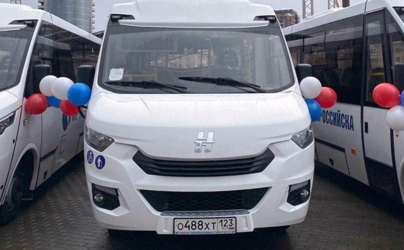 В Новороссийске появились 10 пассажирских автобусов с кондиционерами и подсветкой (видео)