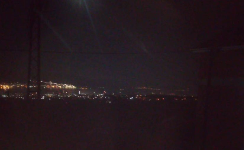 Как жить в темноте Новороссийска (видео)
