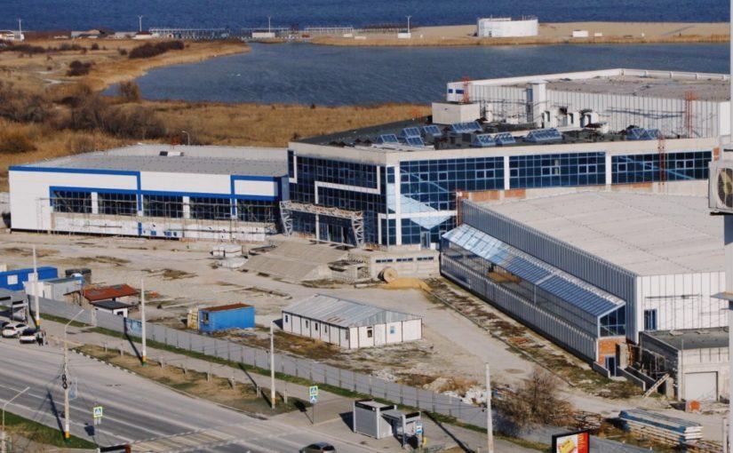 Срок сдачи Дворца спорта в Новороссийске снова перенесен – на неопределенное время