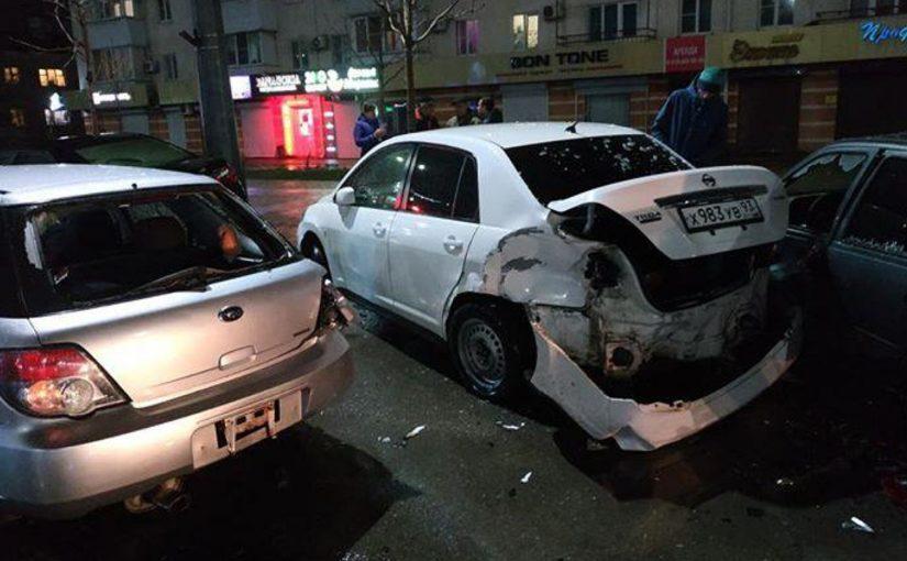 В Новороссийске ищут свидетелей ДТП, в котором иномарка смяла автомобиль многодетной семьи