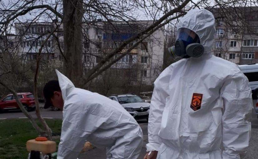 Какие улицы будут дезинфицировать в Новороссийске