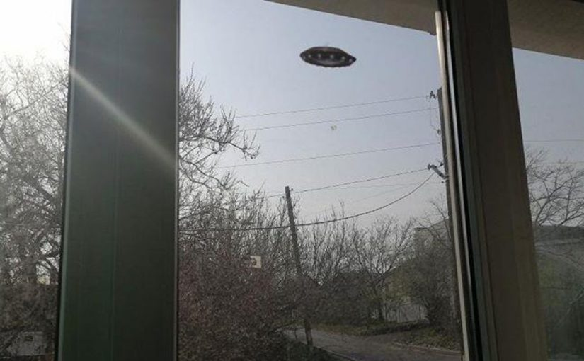 В Новороссийске заметили НЛО? (видео)