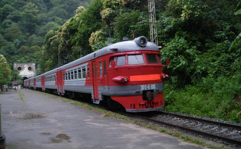 Новороссийцы могут добраться в Гагры поездом. Через Адлер