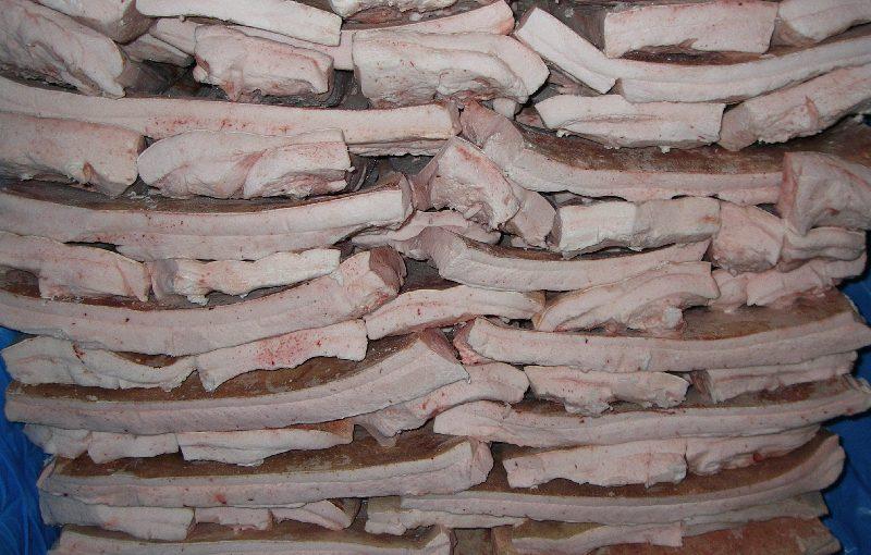 Из новороссийского порта экспортировали сало
