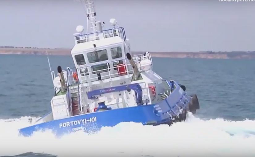 Через пять лет в порту Новороссийска запустят автономные буксиры с сокращенным экипажем
