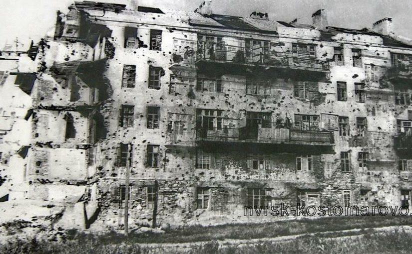 Освободителям Новороссийска предстал разрушенный до основания город