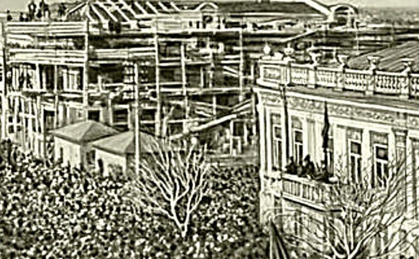 115 лет назад в Новороссийске вначале требовали горячих завтраков, а потом установили республику