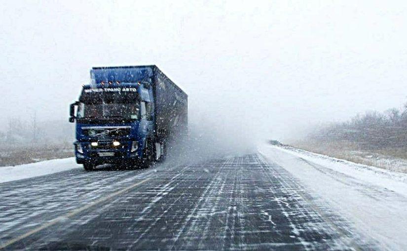 Оганичено движение большегрузов на трассе Новороссийск — Керчь