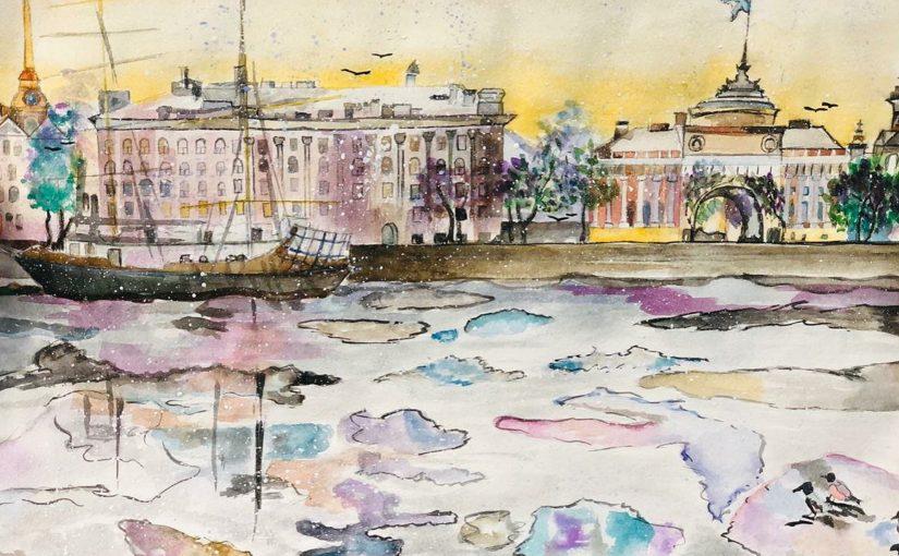Как помочь «особому» художнику из Новороссийска путешествовать и рисовать