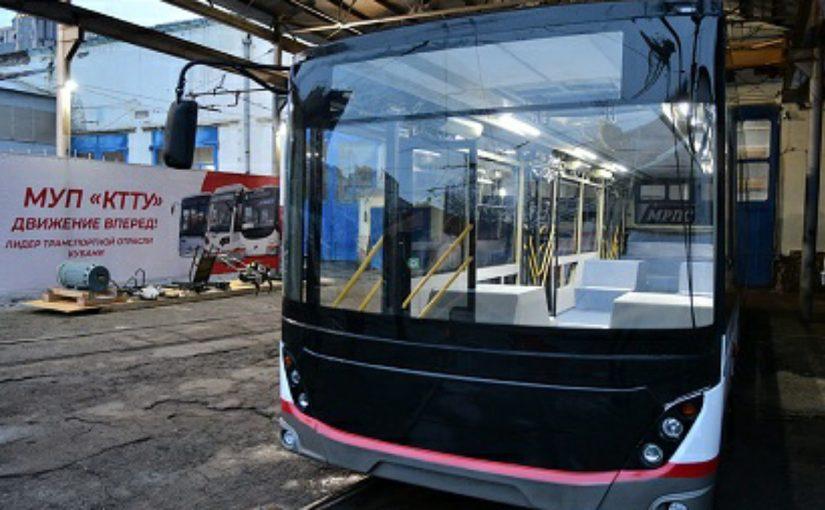 Краснодарцы будут собирать немецкие троллейбусы для себя и для Новороссийска