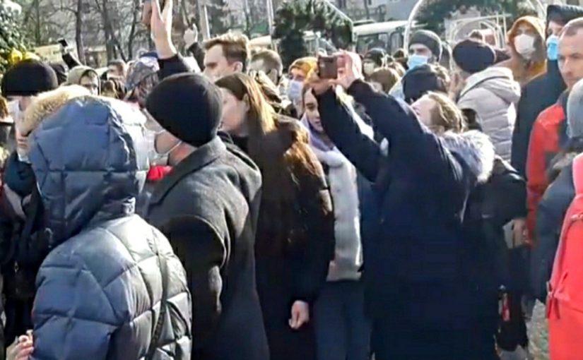 В Краснодарском крае задержали на акциях протеста 62 человека